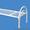 Двухъярусные железные кровати, для казарм, металлические кровати с ДСП спинками. - Изображение #1, Объявление #1480285