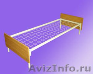 кровати для турбаз, кровати железные, кровати для бытовок кровати для вагончиков - Изображение #2, Объявление #902892