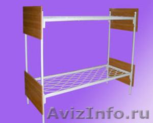 кровати для турбаз, кровати железные, кровати для бытовок кровати для вагончиков - Изображение #6, Объявление #902892