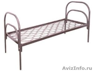 кровати для турбаз, кровати железные, кровати для бытовок кровати для вагончиков - Изображение #3, Объявление #902892