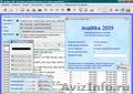 Analitika 2009 - Бесплатная программа для учета и анализа деятельности компании