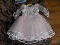 Нарядное платье для девочки 3-6 лет